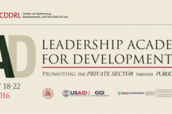The Leadership Academy for Development – executive-level training program for government officials, business and CSO Leaders