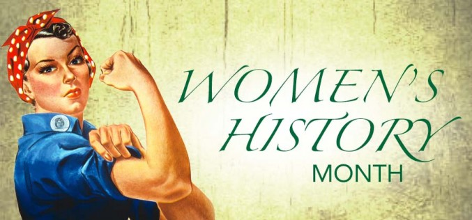 Women's History Month – March, 2020