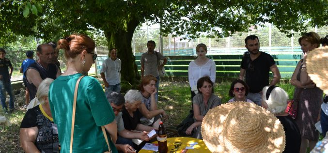 Leading Georgian CSOs Meet Village Residents in Marneuli Municipality