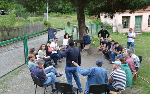 Leading Georgian CSOs Meet Village Residents of Upper Svaneti