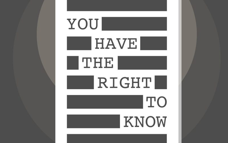 Information Campaign – You Have the Right to Know