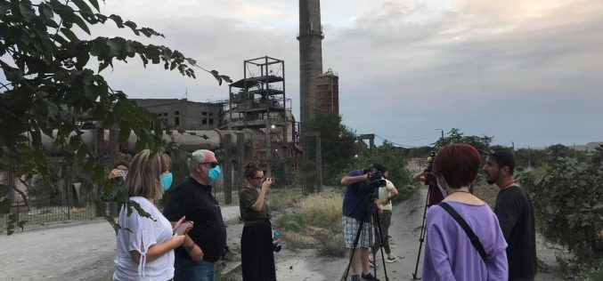 Rustavi Residents Fight against Air Pollution in the City