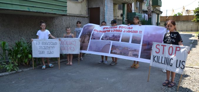 Open Meetings with Residents in Poti to Discuss Environmental Problems